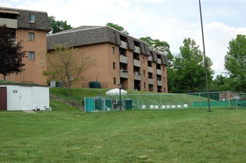 View Of Surrey Gardens Apartments Building
